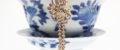 Peranakan Floral Ribbon Pendant